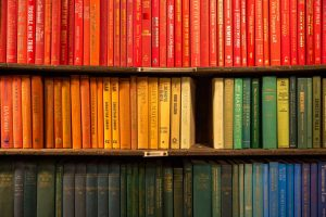 colored books business training