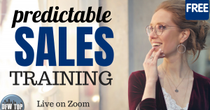 Predictability in Sales