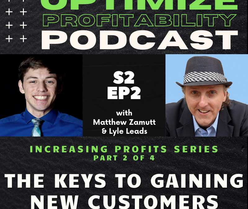 Episode 22 – Increase Customer Frequency – Optimize Profitability Podcast with Lyle Leads